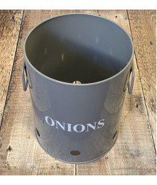 Onion Storage Tin